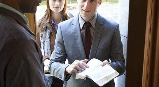 JW at Door